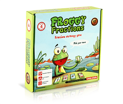Froggy Fractions Fractions Card Game