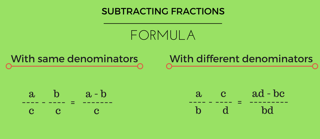 subtracting-fractions-calculator-formula