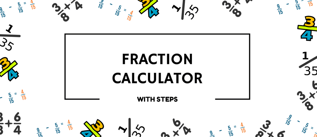 Visual fraction calculator.