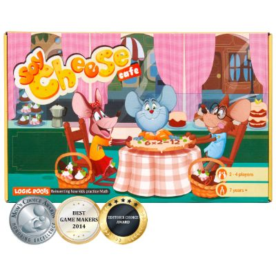Say Cheese - Multiplication Board Game
