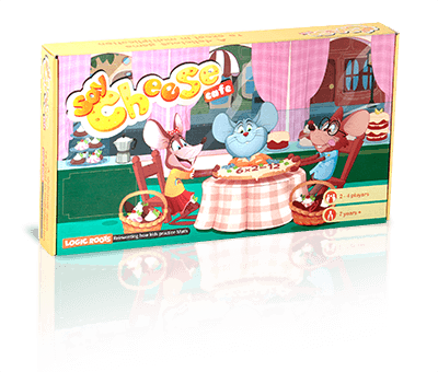 Say Cheese Cafe - Multiplication Tables Board Game