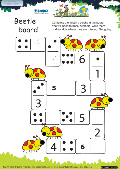 Beetle Board worksheet