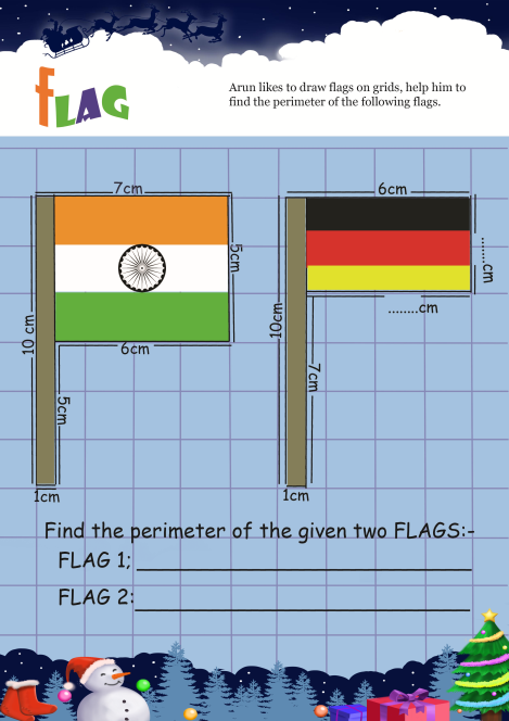 Flag worksheet