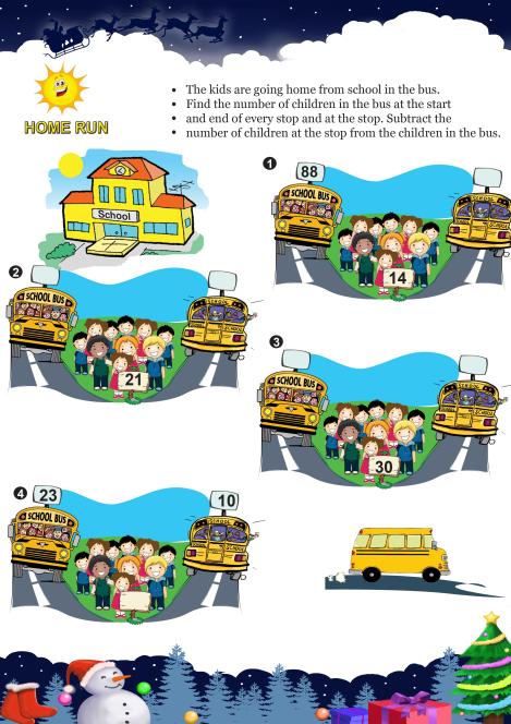 Home Run worksheet