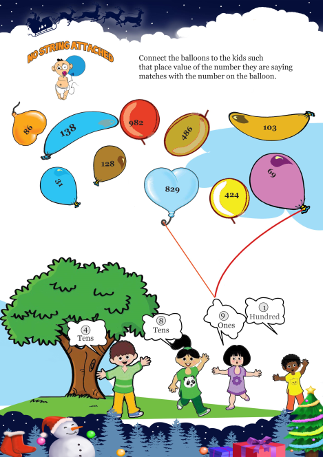 No Strings Attached worksheet