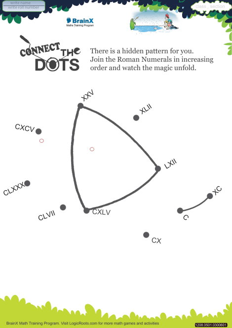 connect the dots cap math worksheet for grade   free  printable  connect the dots cap worksheet