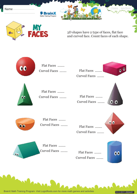 My Faces Math Worksheet For Grade 3 Free Printable Worksheets