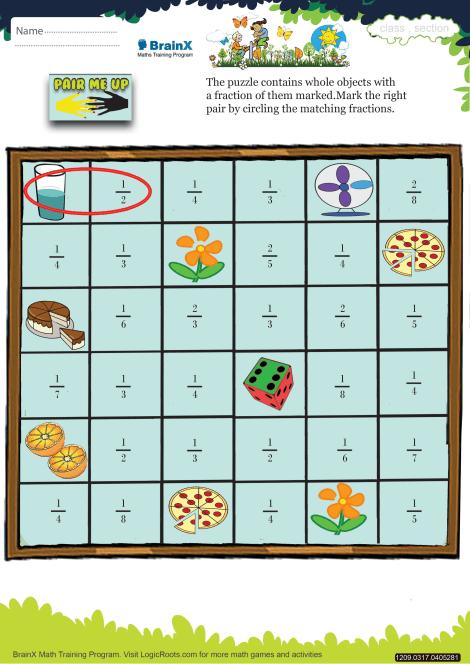 Pair Me Up Math Worksheet for Grade 3   Free & Printable ...