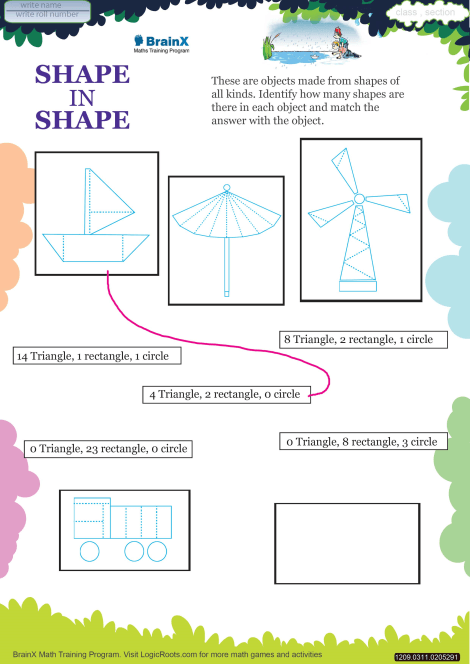 photo relating to Printable Shape Worksheet referred to as Condition Within Condition Math Worksheet for Quality 3 Cost-free Printable
