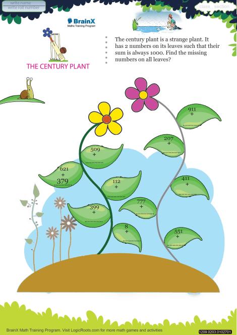 The Century Plant worksheet