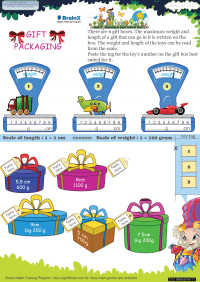 Weight worksheet - Gift Packaging