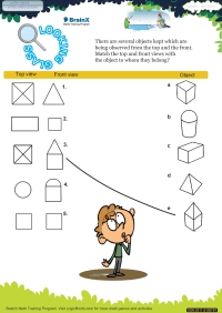 Geometry worksheet - Looking Glass
