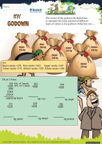 Multiplication worksheet - My Godown
