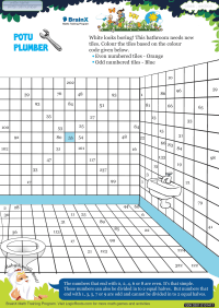 Numbers worksheet - Potu Plumber
