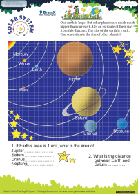 Geometry worksheet - Solar System