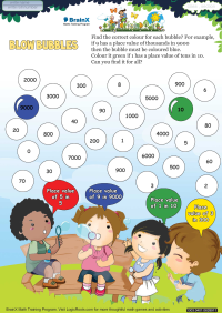 Blow Bubbles worksheet