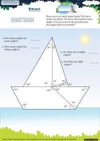 Boat Race worksheet