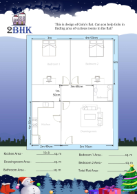 2 BHK worksheet