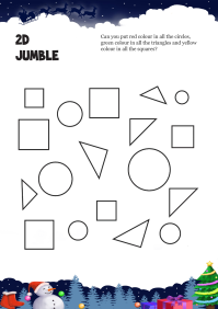 2 D Jumble worksheet