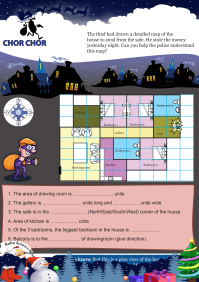 Chor Chor worksheet