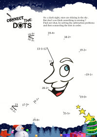 Connect The Dots Moon worksheet