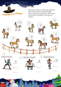 Cowboys Stud worksheet