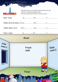 Doll House 2 worksheet