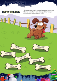 Duffy The Dog worksheet