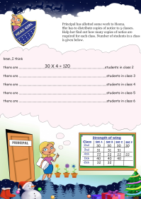 Head Girl worksheet
