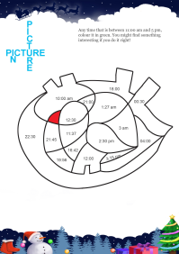 Picture In Picture Parrot worksheet