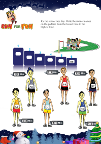 Run For Fun worksheet