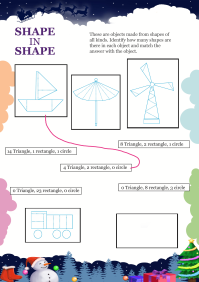Shape In Shape worksheet