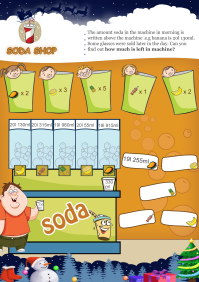 Soda Shop worksheet