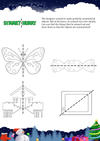 Symmet Hurry worksheet
