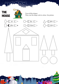 The House worksheet