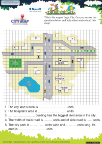 City Map worksheet