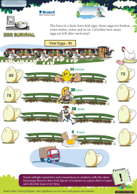 Egg Survival worksheet