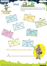 Envelope Puzzle worksheet