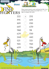 Fish Hunters worksheet