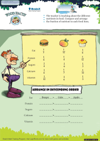 Food Facts worksheet