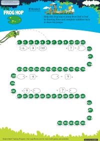 Frog Hop worksheet