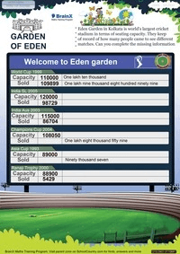Garden of Eden worksheet