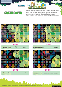 Green Cover worksheet