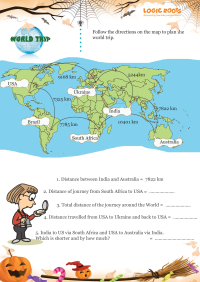 World Trip worksheet