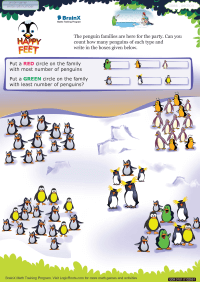 Happy Feet worksheet