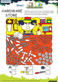 Hardware Store worksheet