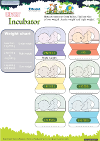 Infant Incubator worksheet