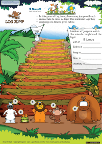 Log Jump worksheet