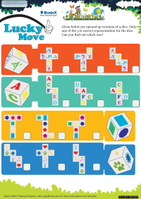 Lucky Move worksheet