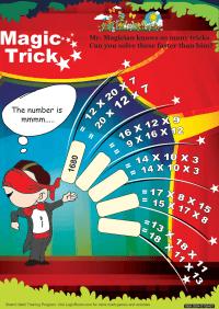 Magic Trick worksheet